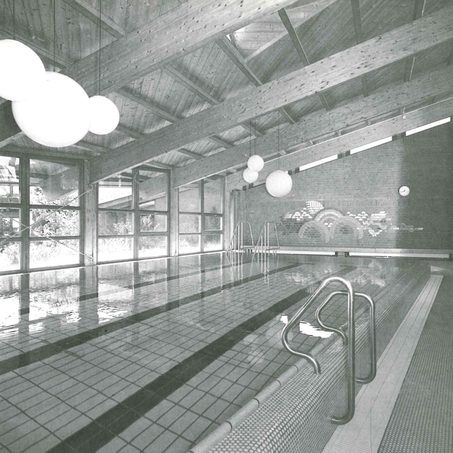 werkschau mete arat architekt schwimmhalle ludwigsburg. Black Bedroom Furniture Sets. Home Design Ideas