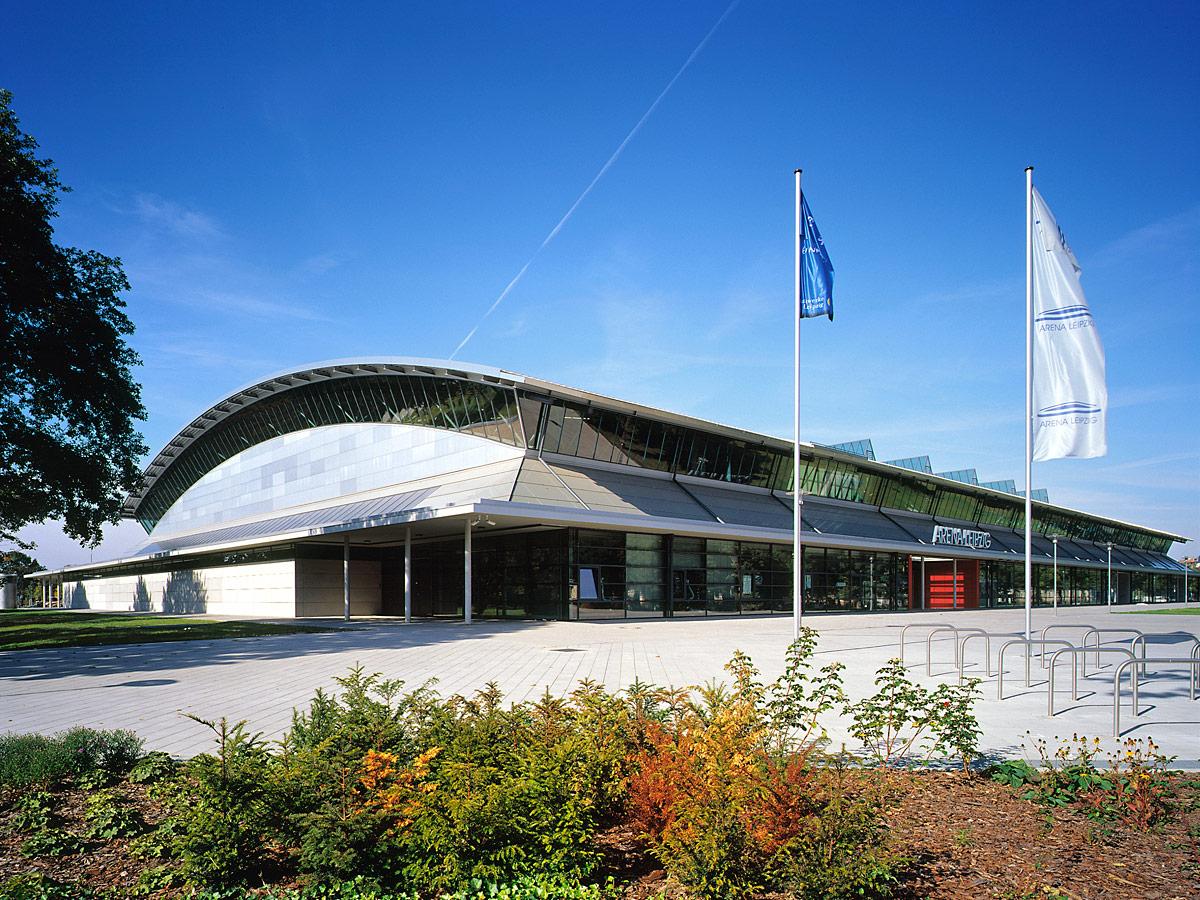 Werkschau mete arat architekt sport und mehrzweckhalle for Architekt leipzig